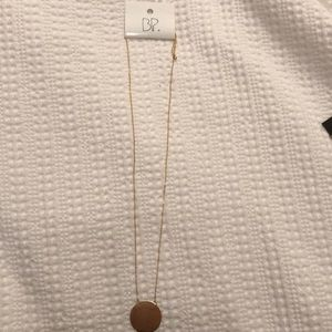 Never worn BP gold necklace